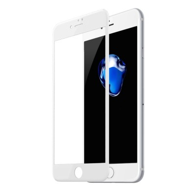 Baseus 3D Full Cover Tempered Glass για (2pcs) Apple iPhone 8 Plus / 7 Plus – White (200-105-082)