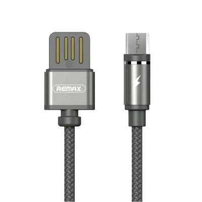Μαγνητικό Καλώδιο USB/Micro USB - Black by Remax