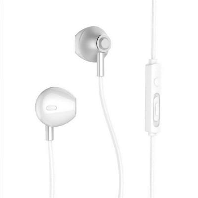 Remax RM-711 Ακουστικά earphone με μικρόφωνο - Ασημί (200-104-360)