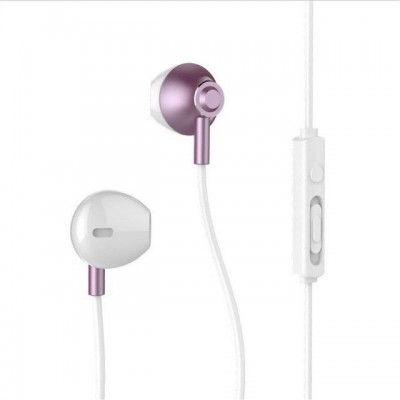 Remax RM-711 Ακουστικά earphone με μικρόφωνο - Rose Gold (200-104-788)