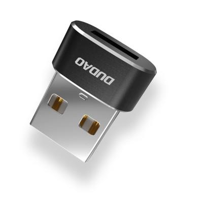 Dudao Μετατροπέας Αντάπτορας USB Type C To USB (L16AC) Black - (200-105-216)