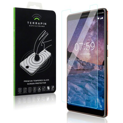 Terrapin Tempered Glass - Αντιχαρακτικό Γυάλινο Screen Protector Nokia 7 Plus