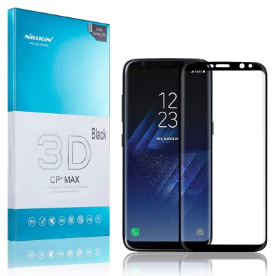 Nillkin Full Cover Tempered Glass για Samsung Galaxy S8 Plus μαύρο
