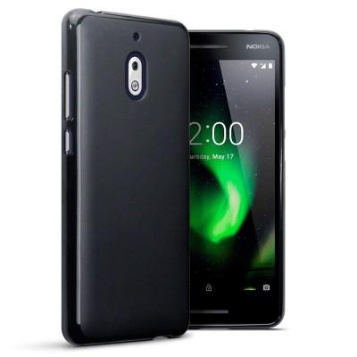 Terrapin Θήκη Σιλικόνης Nokia 2.1 - Black Matte
