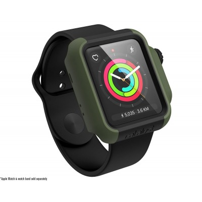 Catalyst Θήκη Impact Protection για Apple Watch 42mm Series 3/2 - Army Green