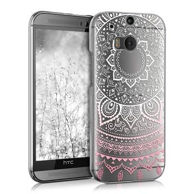 Ημιδιάφανη Θήκη Indian Sun για HTC ONE M8 by KW