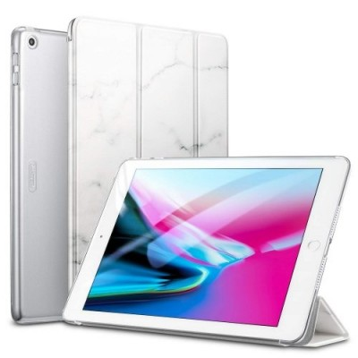 ESR Smart Case Marble White iPad 9,7 2017/2018