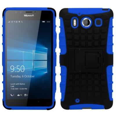 Ανθεκτική Θήκη Microsoft Lumia 950 μπλε