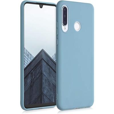 Θήκη Σιλικόνης για Huawei P30 Lite - Stone Blue by KW (200-107-768)