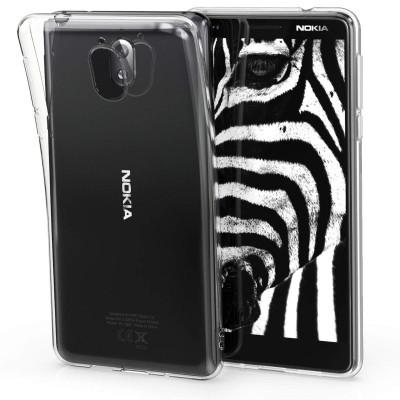 Διάφανη θήκη σιλικόνης Crystal Clear για Nokia 3.1 (2018) by KW
