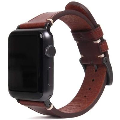 SLG Design D7 Italian Buttero Leather Strap - Δερμάτινο Λουράκι Apple Watch SE/6/5/4/3 (44/42mm) - Brown (SD-S7B-S-AW44-BR)