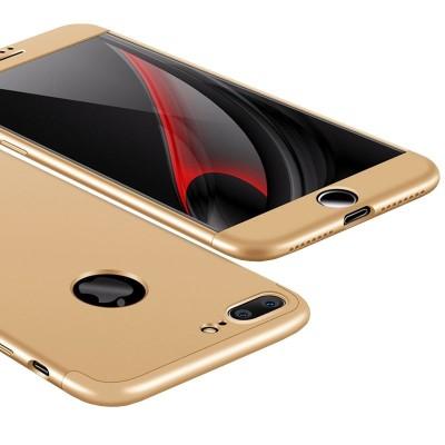 Full Body θήκη για iPhone 8/7 Plus χρυσή OEM