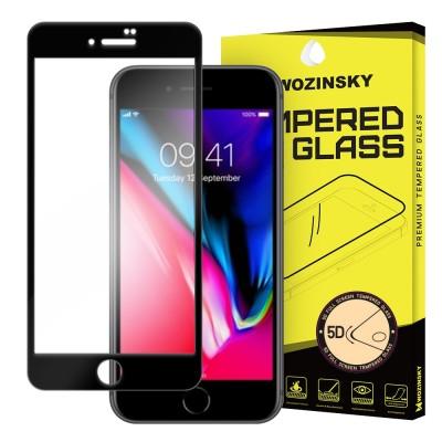 Wozinsky Full Glue 5D Tempered Glass για Apple iPhone 7/8 - Black (200-104-497)