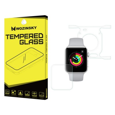 Wozinsky Premium Full Body Screen Protector Self - Repair Front and Back για Apple Watch 1/2/3 42mm