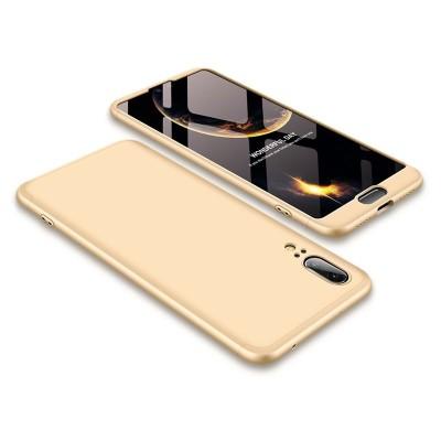 Full Body θήκη για Huawei P20 χρυσή