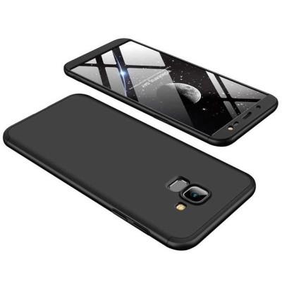 Full Body θήκη για Samsung Galaxy J6 (2018) μαύρη