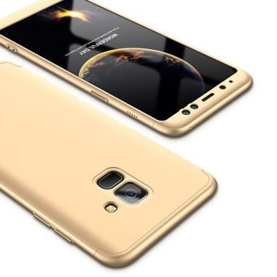 Full Body θήκη για Samsung Galaxy A6(2018) χρυσή