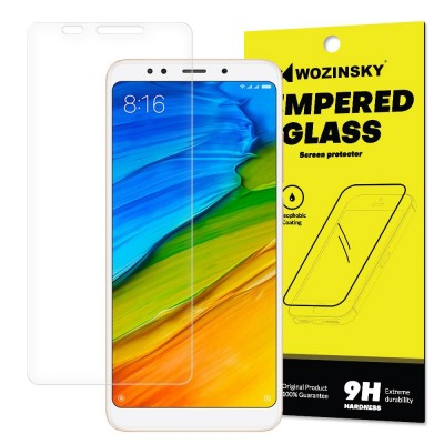 Wozinsky Tempered Glass - Αντιχαρακτικό Γυαλί Οθόνης για Xiaomi Redmi 5 Plus - (200-106-149)
