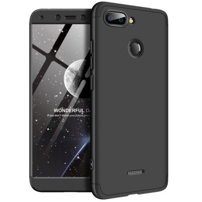 Full Body θήκη για Xiaomi Redmi 6 μαύρη