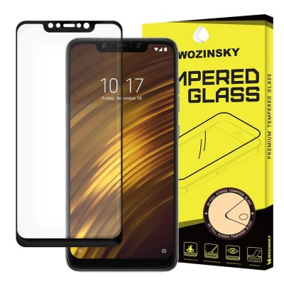 Wozinsky Full Cover Tempered Glass Black για Xiaomi Pocophone F1