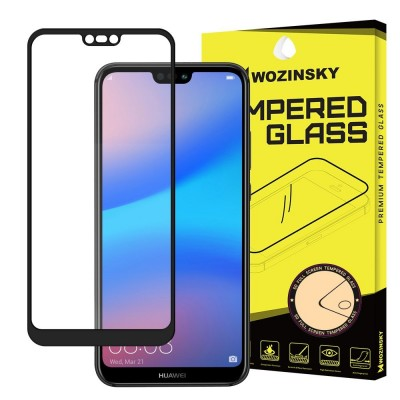 Wozinsky Full Cover Tempered Glass Full Glue Black για Huawei P20 Lite (200-105-944)