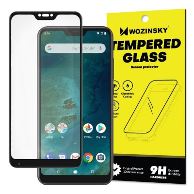 Wozinsky Full Cover Tempered Glass Black για Xiaomi Mi A2 Lite / Redmi 6 Pro (200-104-344)