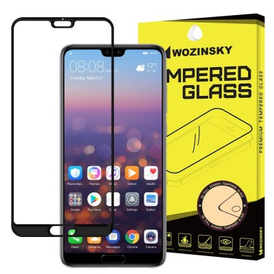 Wozinsky Full Cover Tempered Glass Black για Huawei P20 Pro (200-104-345)