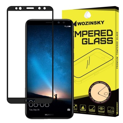 Wozinsky Full Cover Tempered Glass Full Glue Black για Huawei Mate 10 Lite (200-104-903)