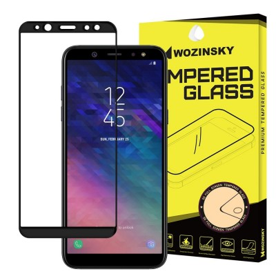Wozinsky Full Cover Tempered Glass Black για Samsung Galaxy A6(2018)