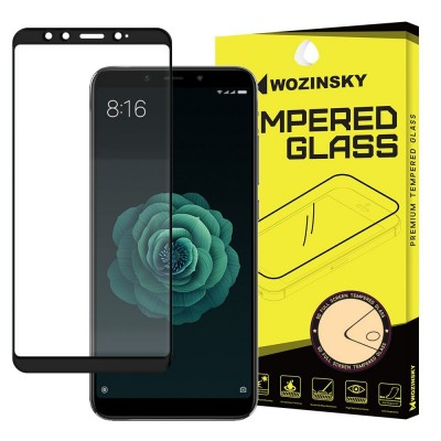 Wozinsky Full Cover Tempered Glass Full Glue Black για Xiaomi Mi A2 / Mi 6X (200-106-593)