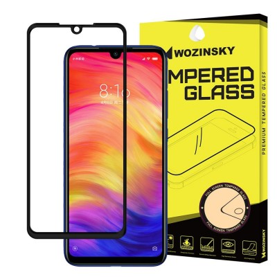 Wozinsky Full Cover Tempered Glass Black για Xiaomi Redmi Note 7