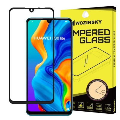 Wozinsky Full Cover Tempered Glass Black για Huawei P30 Lite (200-104-143)