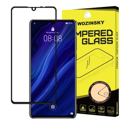 Wozinsky Full Cover Tempered Glass Black για Huawei P30  (200-103-797)