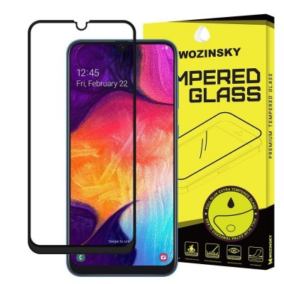 Wozinsky Full Cover Tempered Glass Full Extra Glue Black για Samsung Galaxy A40  (200-104-146)