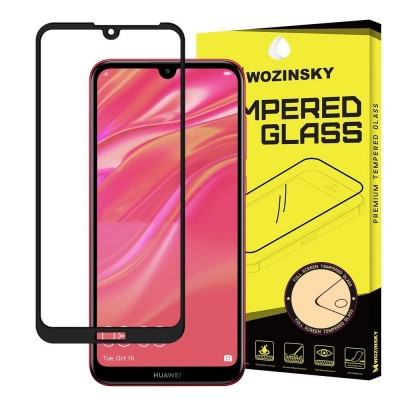 Wozinsky Full Cover Tempered Glass Full Glue Black για Huawei Y5 2019 (200-105-954)