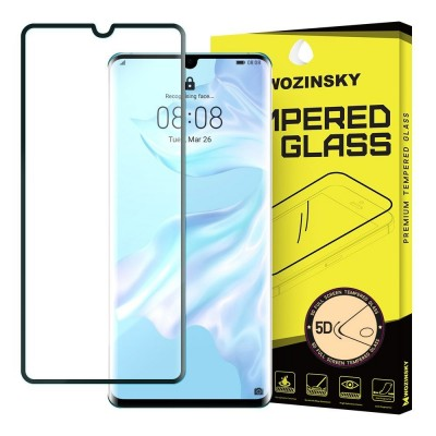 Wozinsky Full Cover Tempered Glass Black για Huawei P30 Pro (200-104-840)