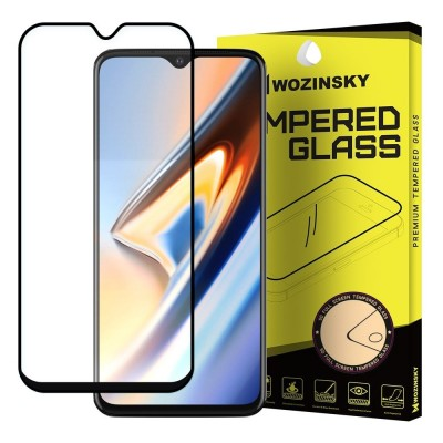Wozinsky Full Cover Tempered Glass Full Glue Black για OnePlus 7 (200-104-149)