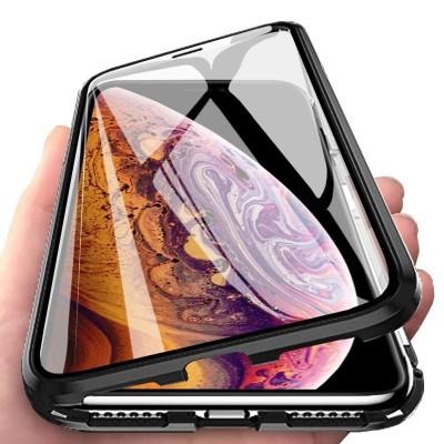 Μαγνητική Μεταλλική Θήκη – Detachable Metal Frame για Huawei Mate 30 Lite – Μαύρη (200-104-533)