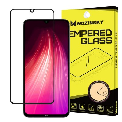 Wozinsky Full Glue Tempered Glass για Xiaomi Redmi Note 8 - Black (200-104-520)