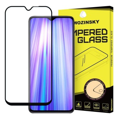 Wozinsky Full Cover Tempered Glass Full Glue Black για Xiaomi Redmi Note 8 Pro (200-104-813)