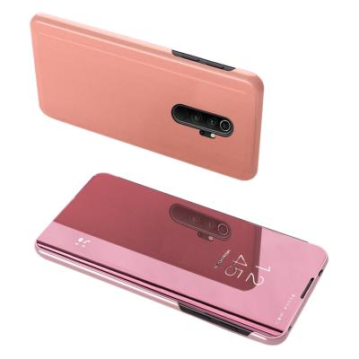 Θήκη Clear View Standing Cover για Xiaomi Redmi 8 Pro Ροζ - OEM (200-104-896)