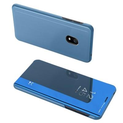 Θήκη Clear View Standing Cover για Xiaomi Redmi 8A Μπλε - OEM (200-104-912)