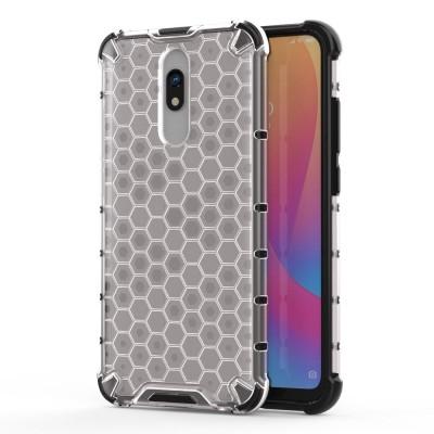 OEM Ανθεκτική Θήκη Honeycomb Hard Shell Xiaomi Redmi 8A - Transparent (200-105-087)