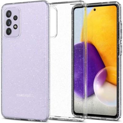 Spigen Θήκη Σιλικόνης Liquid Crystal Glitter - Samsung Galaxy A72 - Crystal Quartz (ACS02326)