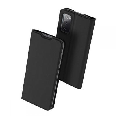 Duxducis SkinPro Θήκη Πορτοφόλι Samsung Galaxy S20 FE - Black (200-107-208)