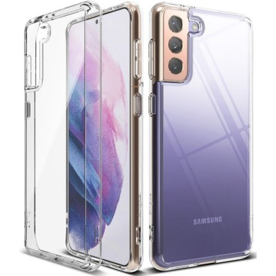 Ringke Fusion Θήκη Σιλικόνης Samsung Galaxy S21 Plus 5G - Clear (200-107-214)