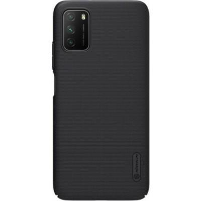 Nillkin Θήκη Super Frosted Shield Xiaomi Poco M3 & Kickstand - Βlack (76855) (Default)