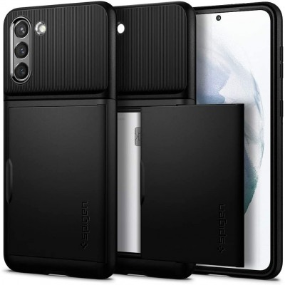 Spigen Slim Armor CS Θήκη Samsung Galaxy S21 Plus 5G - Black (ACS02393)
