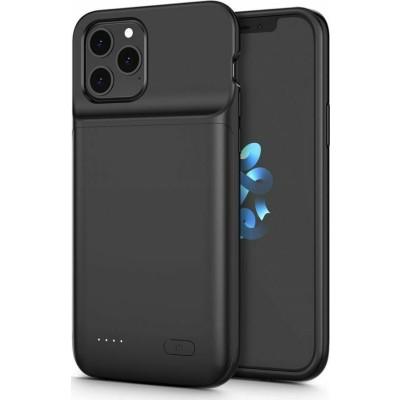 Tech-Protect Θήκη με Ενσωματωμένη Μπαταρία 4800mAh Apple iPhone 12 / 12 Pro - Fast Charge - Black (76884)