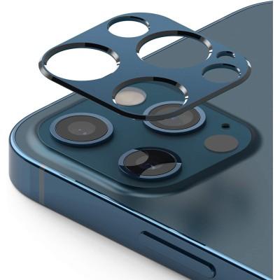 Ringke Camera Styling Screen Protector - Μεταλλικό Κάλυμμα Κάμερας iPhone 12 Pro Max - Blue (76885)